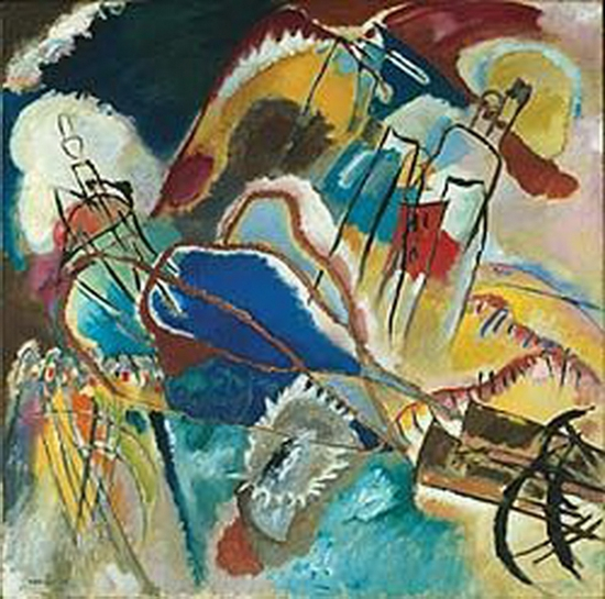 Wassily Kandinsky, Improvisation n° 30, les canons, 1913