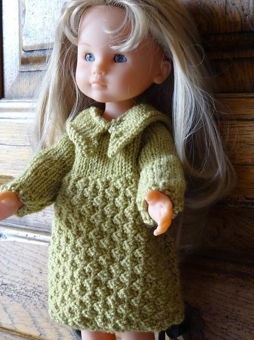 Fiche gratuite vêtements de poupée N° 210