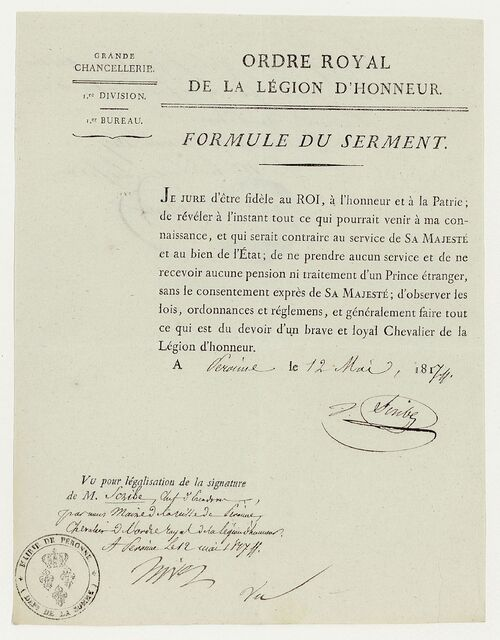 * SCRIBE François-Joseph