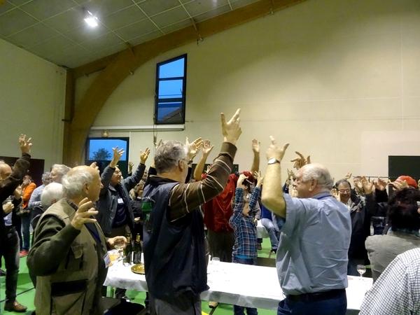 Le congrès National de Mycologie s'est poursuivi par des conférences...