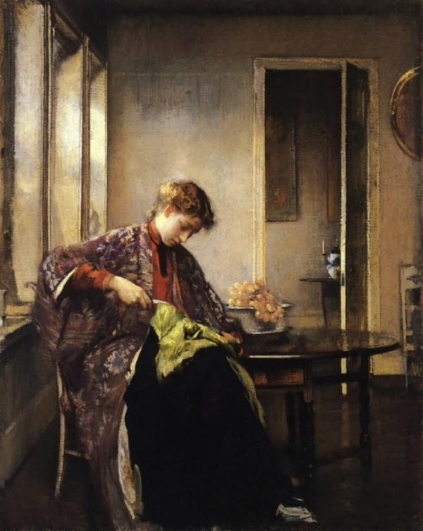 Mardi - Mon artiste du mardi : Edmund Charles Tarbell