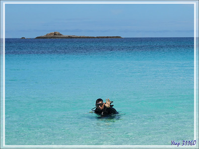 "Où j'ai pris du galon en devenant ""moniteur"" ... - Nosy Tsarabanjina - Archipel des Mitsio - Madagascar"