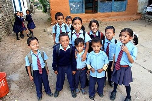 5-Népal / l'inégalité devant l'éducation