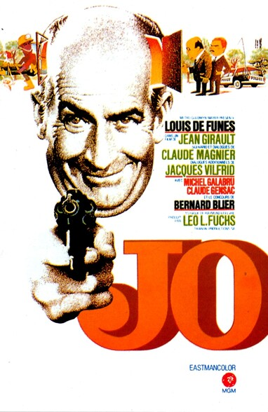 JO - BOX OFFICE LOUIS DE FUNES 1971