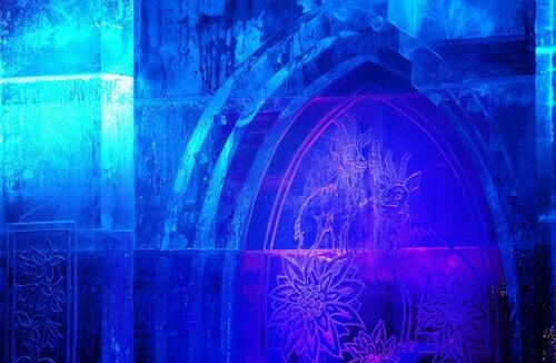 La cathédrale de glace...
