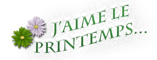 WordArt printemps