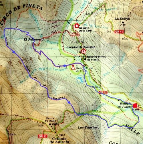 Vallée de Pineta : Faja Tormosa