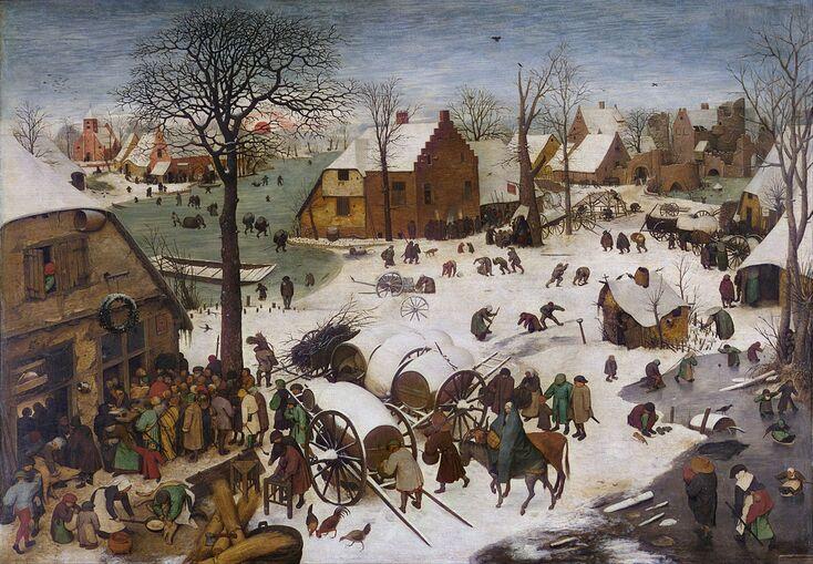 Breugel et l'hiver - des tableaux témoignage