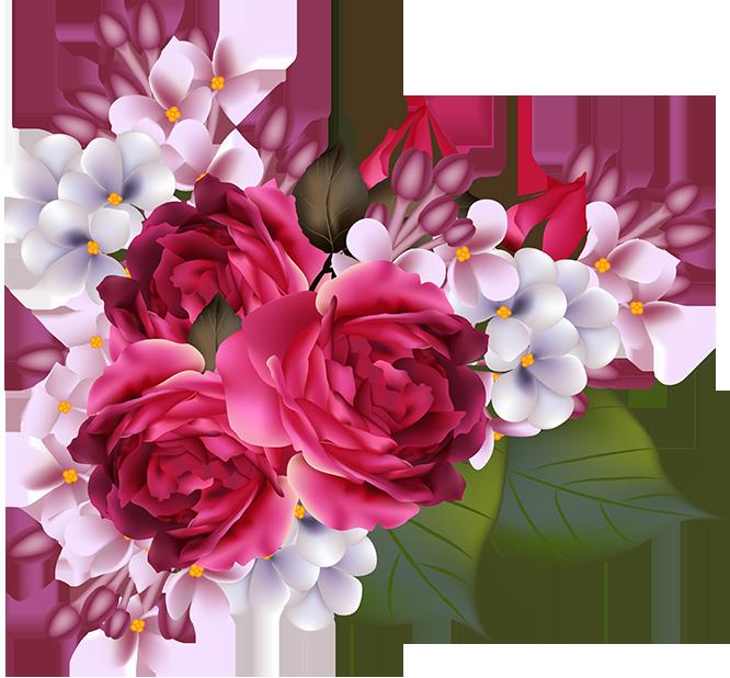 tubos de flores / ramos