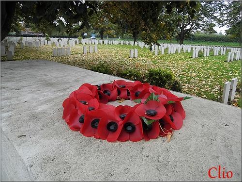 Du rouge in Flanders Field ... Pour Khanel