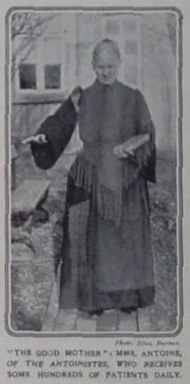 Mère Antoine en 1910 (The Illustrated London News)