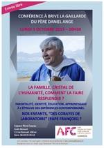 Conférence par le Père Daniel ANGE
