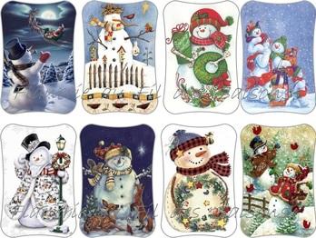 Préparons Noël ... Bonhomme de neige !