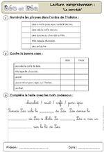 """Lecture compréhension des textes du livre de """"Léo et Léa"""""""