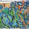 iris à la Van Gogh
