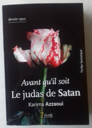 """Dédicace du dernier opus de la saga """"Le Judas de Satan"""""""