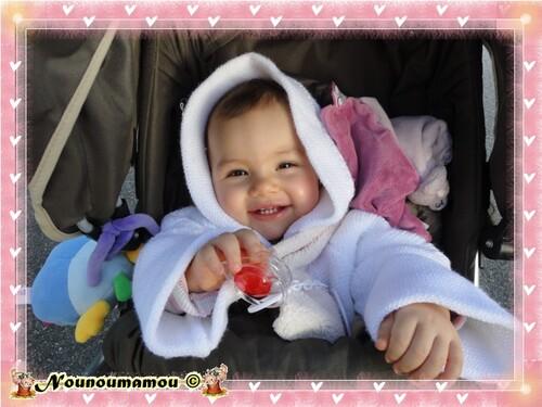 Promenade avec Zoé ma petite Princesse
