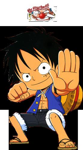 Monkey D. Luffy ( le chapeau de paille)