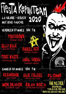 Fiesta Keponteam 2020 - La Graine, MJC Rive Gauche (Rouen)