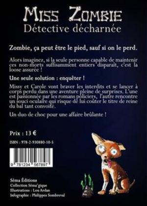 Chronique du roman {Miss zombie, détective acharnée}