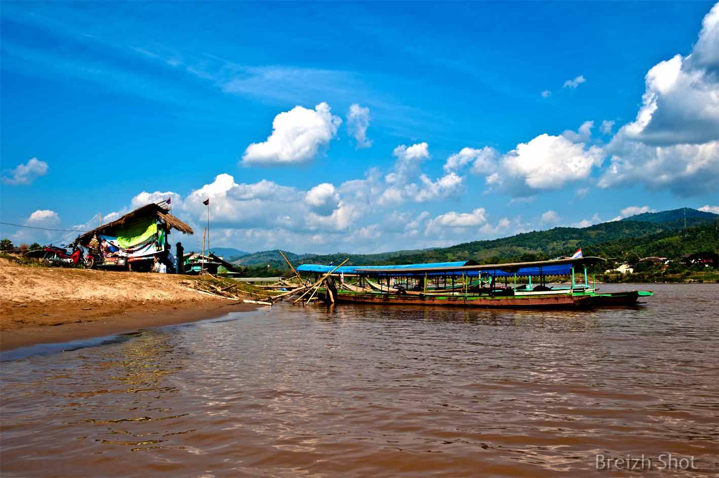 Houayxay Laos  City new picture : ... la traversée du Mekong dans le sens Chiang Khong vers Ban Houayxay