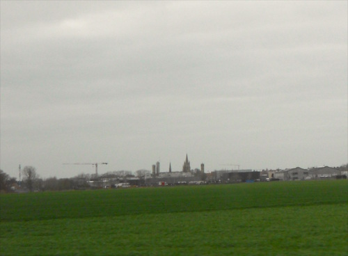 panorama de la ville Nieuport