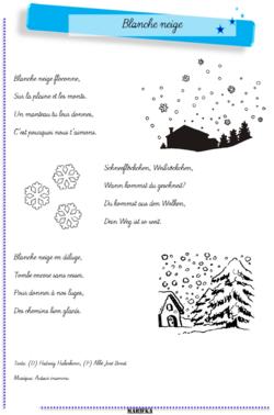 Schneeflöckchen, Weissröckchen - Blanche neige