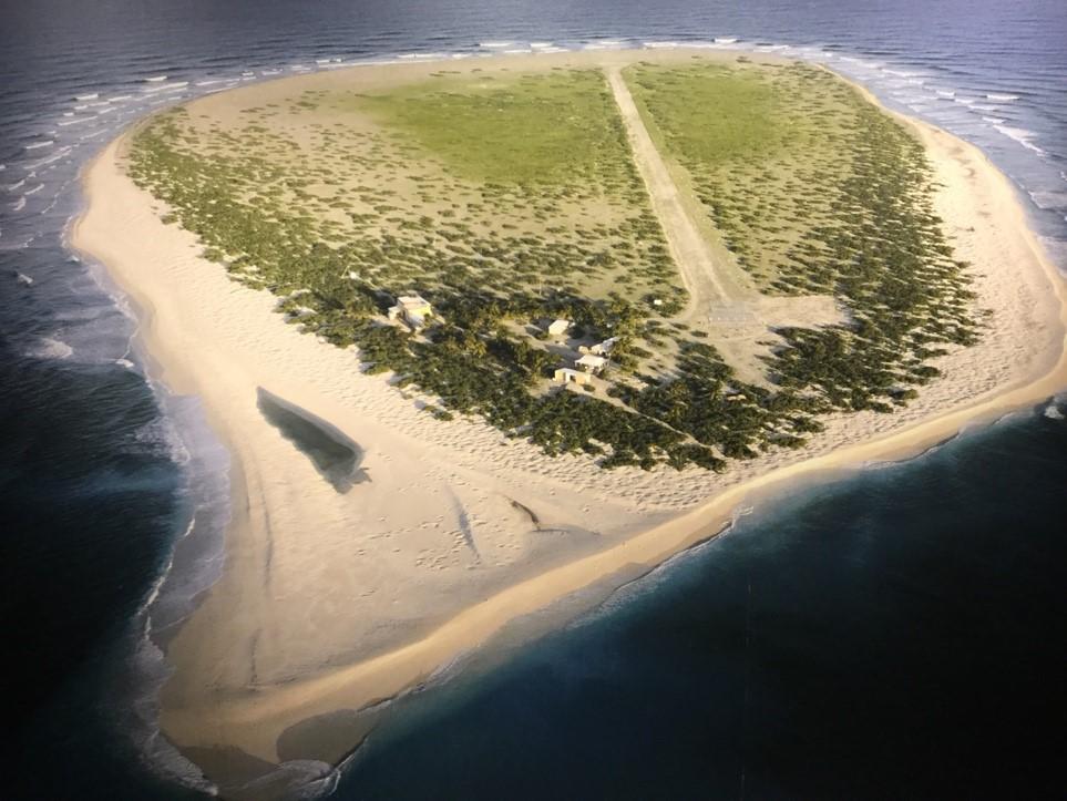 Quinze ans sur un îlot de sable