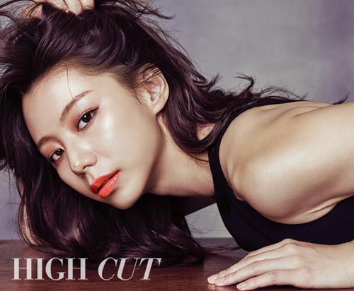 Park Soo Jin pour High Cut