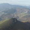 Du sommet de La Rhune (900 m) vue sur Aiako Harria