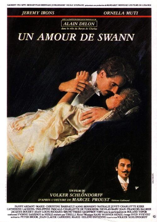 UN AMOUR DE SWANN -  ALAIN DELON BOX OFFICE 1984