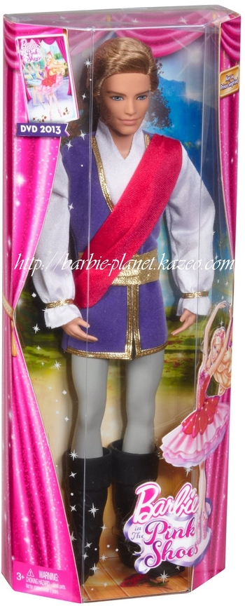 Barbie in the Pink Shoes poupée Ken - Prince Siegfried