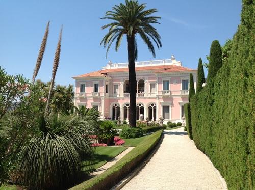 villa Efrusi de Rotchild, 19 juin 2014