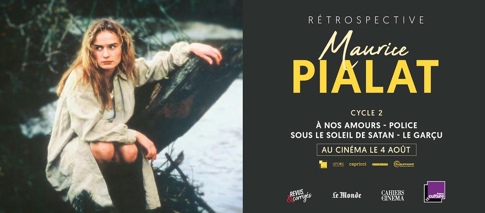 Rétrospective Maurice Pialat, à partir du 7 juillet 2021 au cinéma - découvrez la bande-annonce !