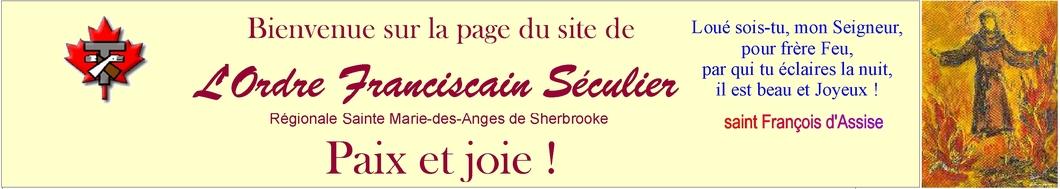 Bienvenue sur le nouveau site de la Fraternité de l'Ordre Franciscain Séculier (OFS)