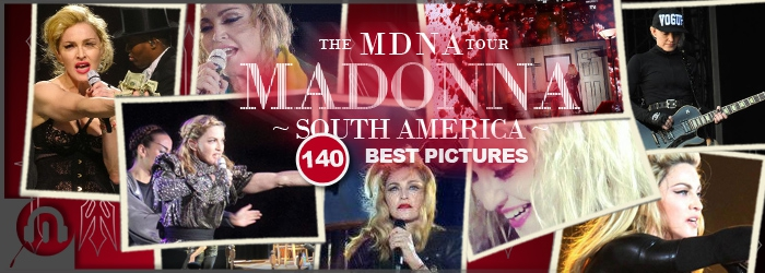 The MDNA Tour - South America Best Pictures