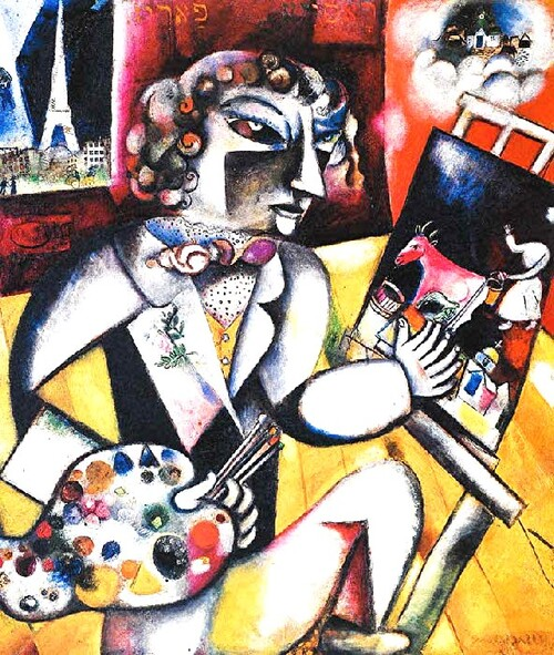 Chagall  /5 /              Paris 1912-1913 : le mal du pays ! (2)