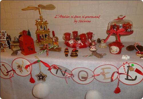 Un Noël rouge & blanc, et gourmand...