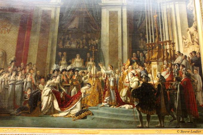 Le Louvre : peinture période napoléonienne