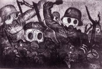 Otto Dix, Assaut sous les gaz