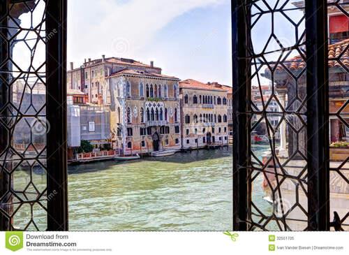 Fenêtre vénitienne