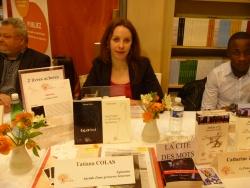 Dédicaces au SALON du LIVRE PARIS vendredi 19 mars 12