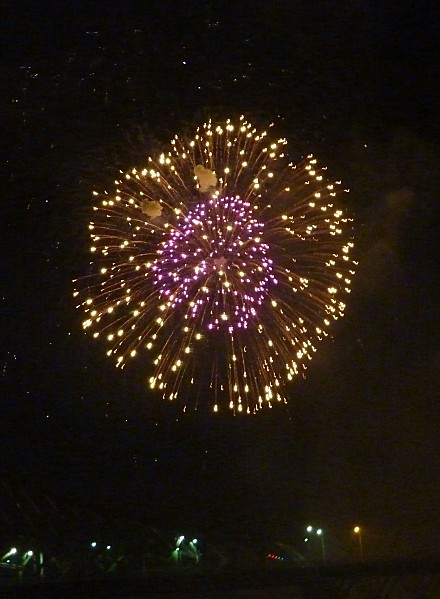 Montreal feu d'artifices