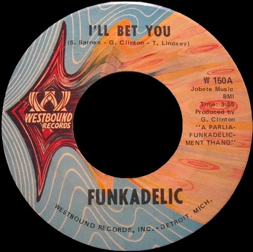 "Funkadelic : Album "" Music For Your Mother : Funkadelic 45's "" Westbound Records SEW2 055 [ US ]"