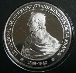 Le cardinal de Richelieu - 1585-1642