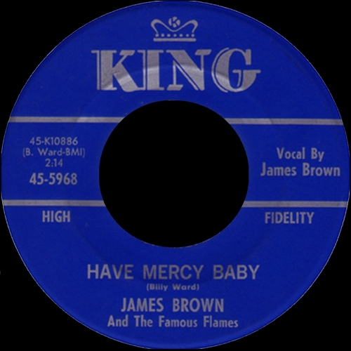 1964 James Brown & The Famous Flames King Records 45-5968 [ US ]