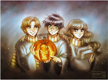 harry_potter__happy_halloween_by_daekazu-d4e9w8r