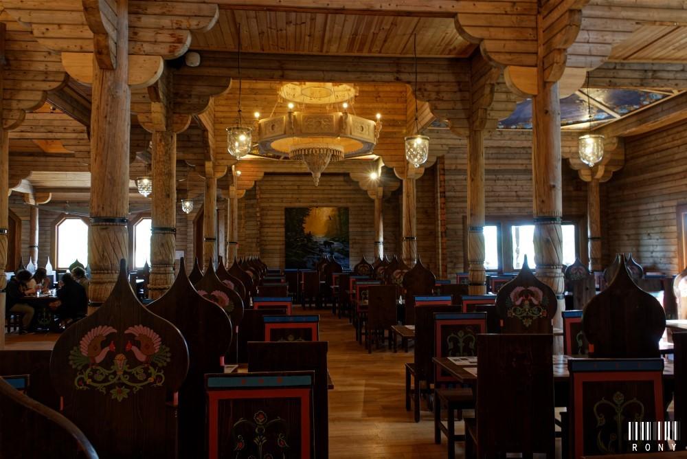 L'Izba, visite maison paysanne typée russe