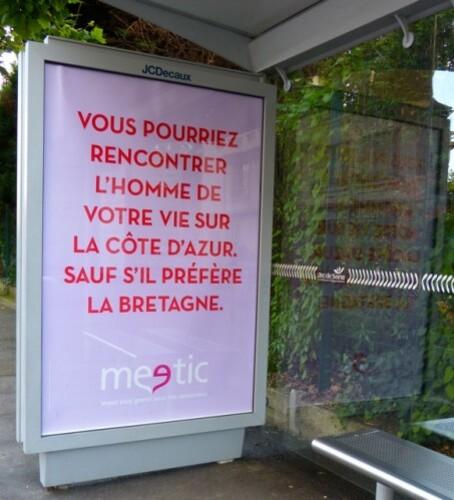 affiche meetic Bretagne 944
