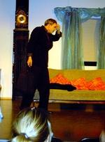 Richard Gutermuth als Dieb, der nicht zu Schaden kam